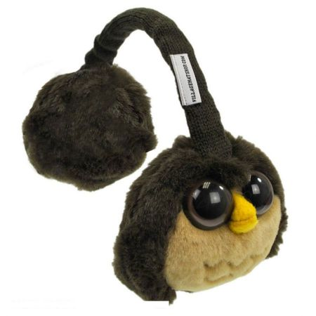 Village Hat Shop Owl Earmuffs