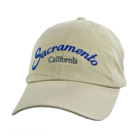Sacramento Adjustable Baseball Cap Dad Hat alternate view 1
