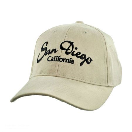 Village Hat Shop - San Diego California Baseball Cap