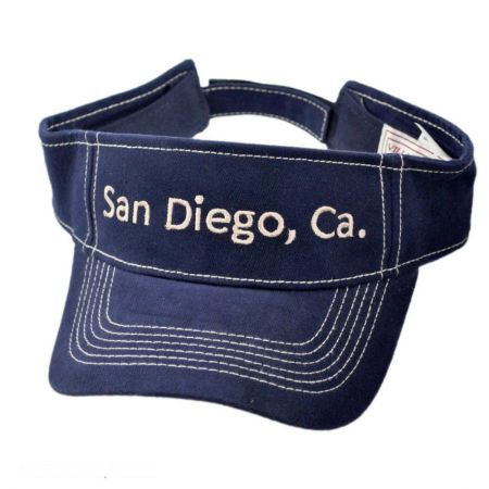 Village Hat Shop San Diego, CA Adjustable Visor