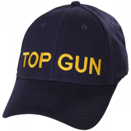 Village Hat Shop Top Gun Adjustable Baseball Cap