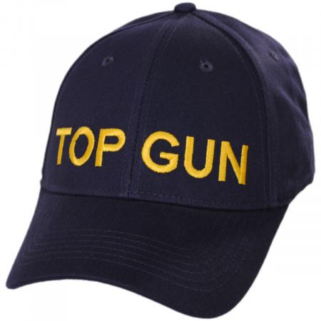 Village Hat Shop Top Gun Adjustable Baseball Cap