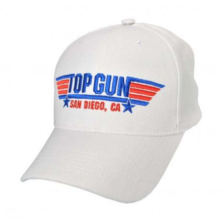 Village Hat Shop Top Gun San Diego Snapback Baseball Cap