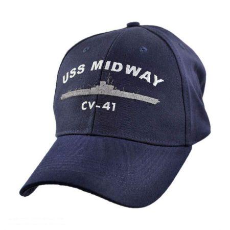 USS Midway Adjustable Baseball Cap