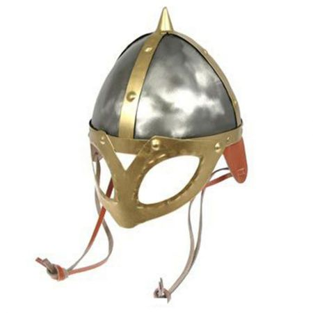 VikingHelmets.com Viking Helmet with Spike & Mask