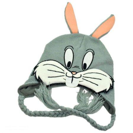 Warner Bros Bugs Bunny Peruvian Beanie Hat