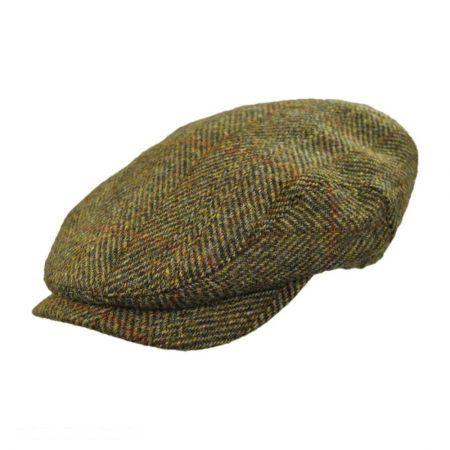 Wigens Caps Harris Tweed Wool Ivy Cap