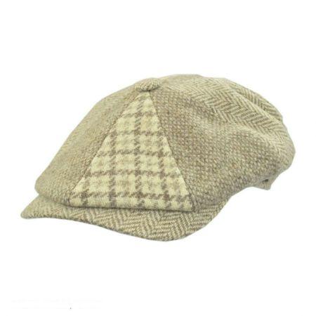Wigens Caps Patchwork Wool Newsboy Cap