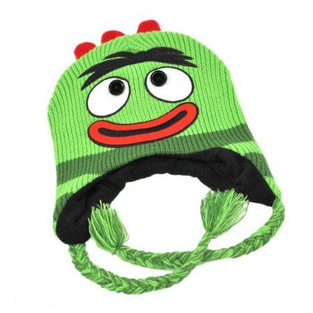 Yo Gabba Gabba Brobee Peruvian Beanie Hat