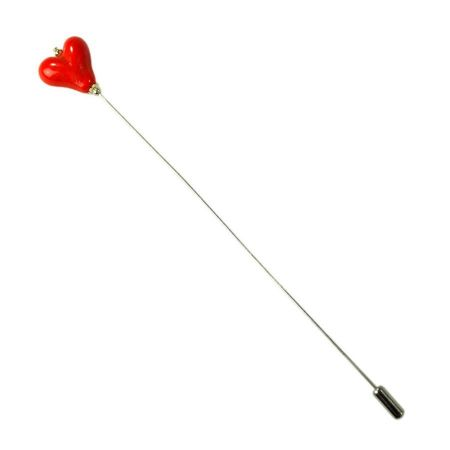 Heart Hat Pin