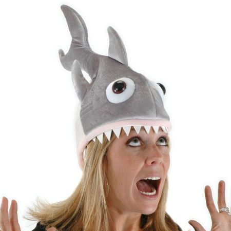 Elope Man Eatin' Shark Hat