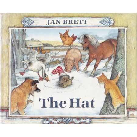 The Hat by Jan Brett [Hardcover Book]