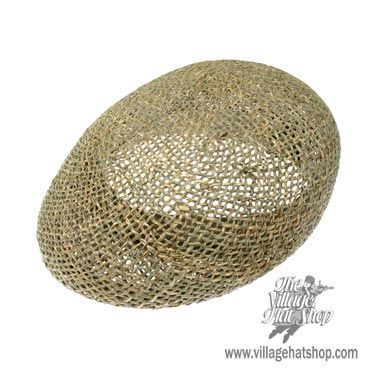Dorfman Pacific Twisted Seagrass Ascot Cap