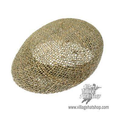 Dorfman Pacific Twisted Seagrass Ascot Cap