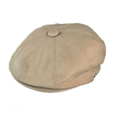 B2B Jaxon Cotton Newsboy Cap