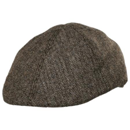 B2B Jaxon Herringbone Wool Blend Duckbill Ivy Cap