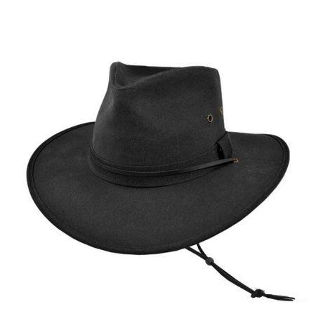 B2B Jaxon Oilcloth Aussie Hat
