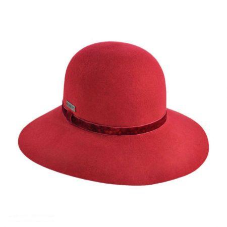 Kangol Lite Felt Diva Wide Brim Hat