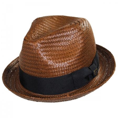 Brixton Hats Castor Toyo Straw Fedora Hat