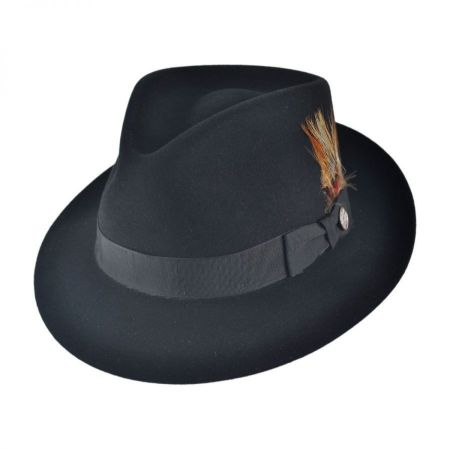 Benchley Beaver Fur Felt Fedora Hat alternate view 43