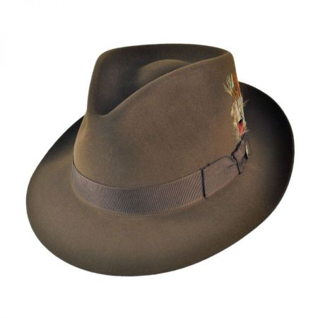 Benchley Beaver Fur Felt Fedora Hat alternate view 55