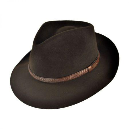 Stetson Emmet Fur Felt Fedora Hat