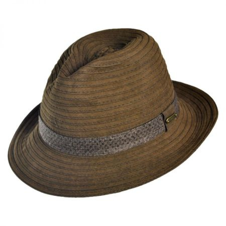 Stetson Packable Fedora Hat