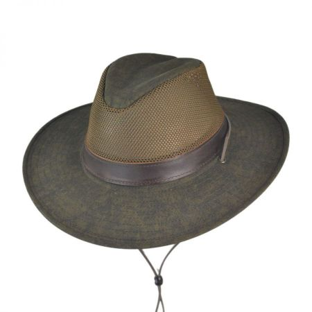 Hiker Distressed Breezer Hat