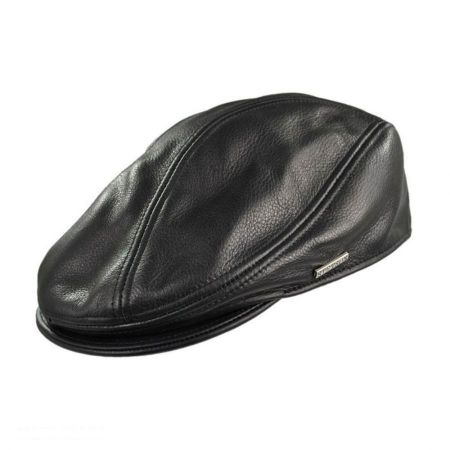 Leather Ivy Cap