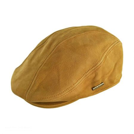 Stetson Leather Ivy Cap