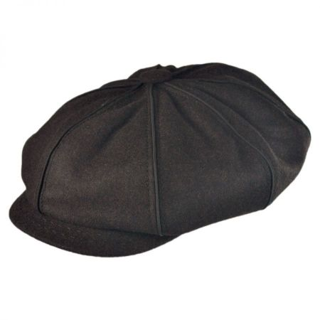Stetson Piping Newsboy Cap