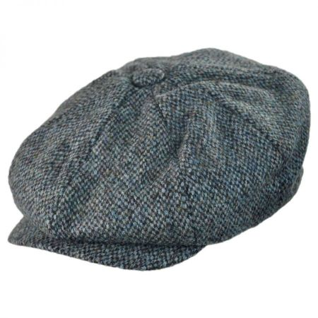 Stetson Harris Tweed Newsboy Cap