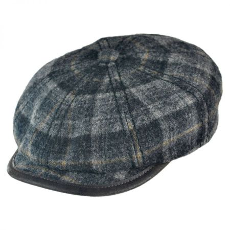 Stetson Newsboy Cap with Earlap