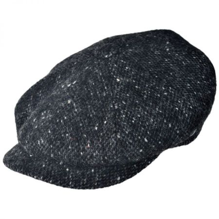 City Sport Caps Donegal Marl Tweed Newsboy Cap