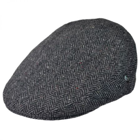 City Sport Caps Donegal Tweed Herringbone Ivy Cap