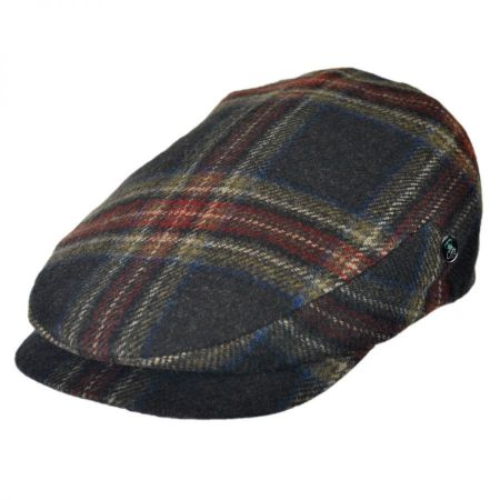 City Sport Caps Cashmere Wool Plaid Ivy Cap