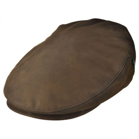 Matte Nappa Leather Ivy Cap