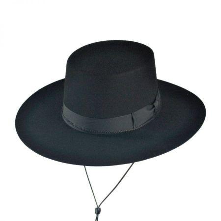 Jaxon Hats Made in the USA - Classics Wool Felt Bolero Hat 84d113c6f59