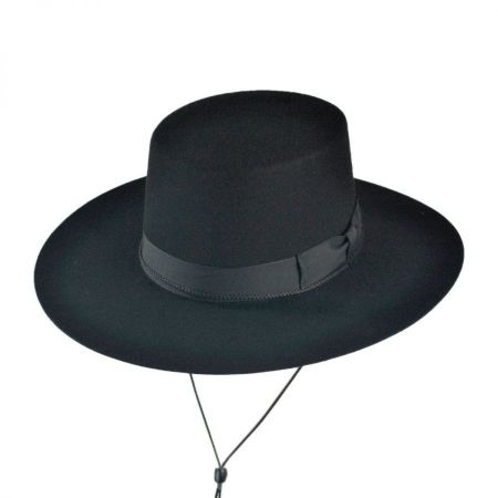 Jaxon Hats Made in the USA - Classics Wool Felt Bolero Hat