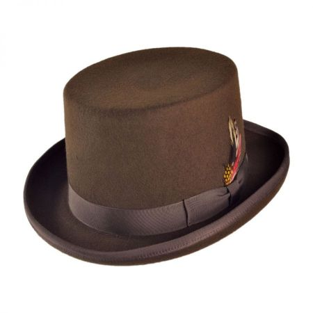 0bd9e580d3e Jaxon Hats Made in the USA - Classics Wool Felt Top Hat