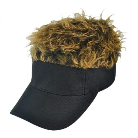 Flair Hair Black Visor