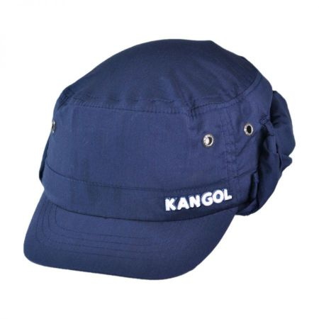 Kangol Samuel L. Jackson Golf Army Cap with Flap