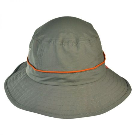 UV Protection Bucket Hat with Drawstring