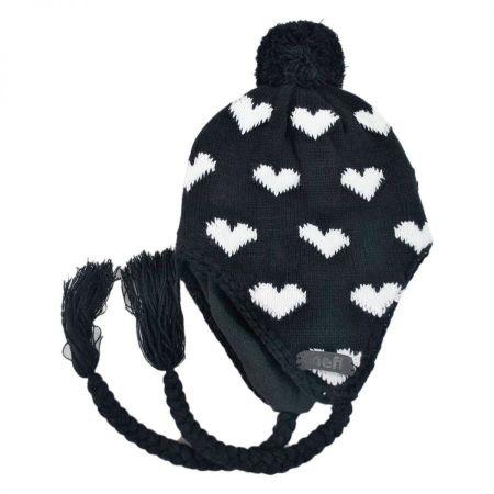 Peruvian Hearts Beanie Hat