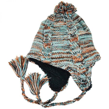 Neff Anita Peruvian Beanie Hat