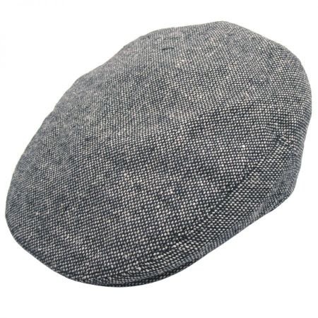 B2B Jaxon Marl Tweed Wool Blend Ivy Cap