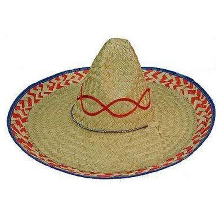 B2B Mexican Palm Straw Sombrero