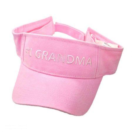 Village Hat Shop #1 Grandma Adjustable Visor