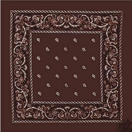 21.5 inch Printed Cotton Bandana