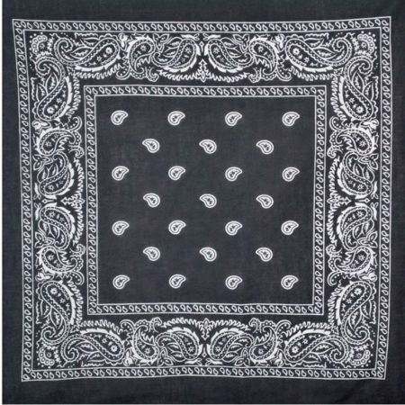 Village Hat Shop 21.5 inch Printed Cotton Bandana